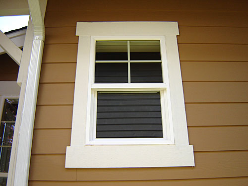 Interior design ideas interior windows for Contemporary exterior window trim